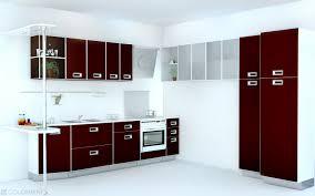 Simple Kitchen Interior Impressive 90 Maroon Kitchen Ideas Inspiration Of Modern Red