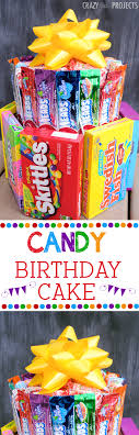 candy for birthdays candy birthday cake