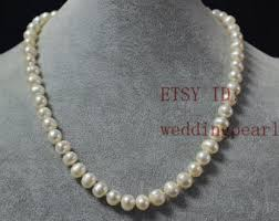 pearls necklace real images Real pearls etsy jpg