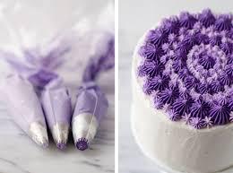 purple ombre layer cake the cake merchant