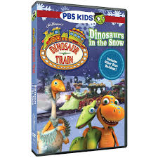 the official pbs kids shop dinosaur train dinosaurs in the snow dvd