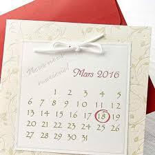 calendrier mariage faire part de mariage calendrier