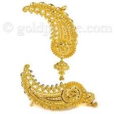 gold kaan earrings indian blush traditional bengali gold wedding jewellery part ii