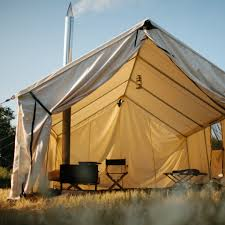 wall tent canvas wall tent ball and buck