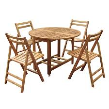 bamboo folding table and chairs set http lachpage com