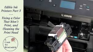 where to print edible images edible ink printers part 3 how to fix a color that isn t printing