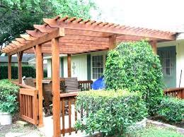 Pergola Designs For Patios How To Build A Wooden Pergola Makemoneyuk Club