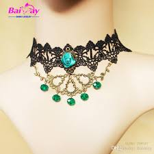 girl collar necklace images 2016 fancy dress ball acc necklaces retro style lolita girl black jpg