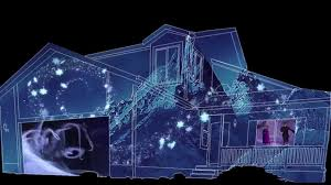 Christmas Lights Projector by Frozen Christmas House Projection Sample Youtube