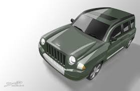 navy blue jeep patriot sketches and illustrations by danny haymond jr at coroflot com