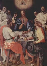 last supper at emmaus 1525 jacopo pontormo wikiart org