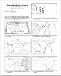 filmmaking basics thumbnail storyboard what are thumbnail