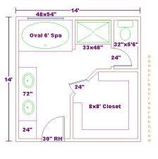 master bedroom and bath floor plans master bathroom 14x14 floor plan 033110 jpg click image to