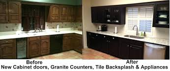 painted black kitchen cabinets before and after painted cabinets before and after krepim club