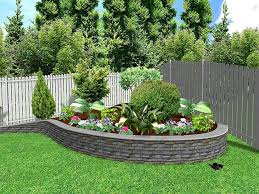 outdoor flower beds in front of house marvelous green square