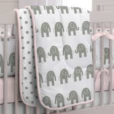 Pink Elephant Nursery Decor by Decorating Elephant Crib Bedding For Baby Home Inspirations Design