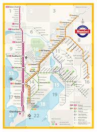 Tyne Metro Map by Transit Maps