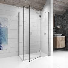 kudos 8 right hand hinged shower enclosure 1500 x 800