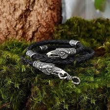 runes ravens bracelet totem bracelet odin ravens ravens of