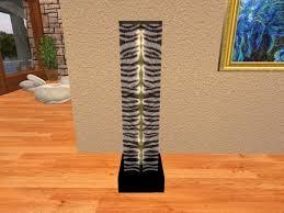 second life marketplace zebra skin floor lamp