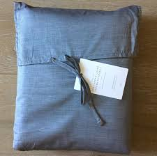 Chambray Duvet Chambray Bedding Restoration Hardware Home Beds Decoration