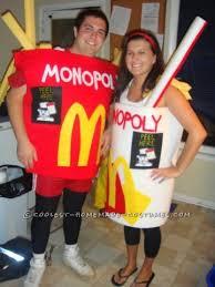 Monopoly Halloween Costumes Original Mcdonald U0027s Monopoly Couples Costumes