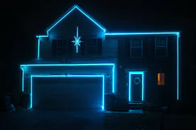 House Christmas Light Projector by Christmas Awesome Laser Lights Christmas White Laser Outdoor
