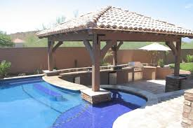 Covered Gazebos For Patios Pergolas Ramadas And Gazebos Phoenix Landscaping Design U0026 Pool