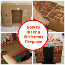christmas cardboard fireplaces wide bay kids