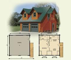 cabin floor plans with garage home deco plans