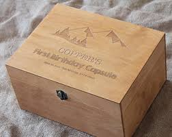 Customized Keepsake Box Time Capsule Box