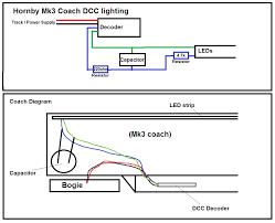 internal lighting for dcc passenger stock workbench model