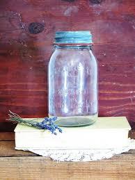 mason jar jeannette mason home packer quart by herbgirlandvintage