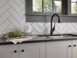 Allora Kitchen Faucet by Delta Esque Single Handle Pull Down Kitchen Faucet U0026 Reviews Wayfair