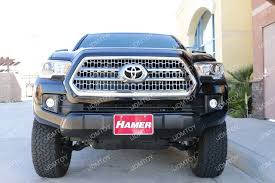 tacoma grill light bar how to install toyota tacoma led light bar system