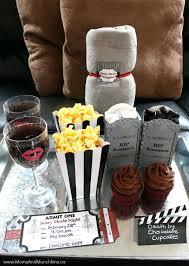 movie date night basket for wedding gift date night gift basket