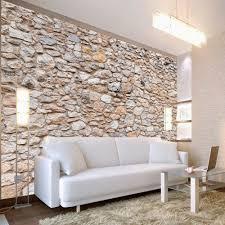 deco mur pierre papier peint imitation pierres déco murale pas cher