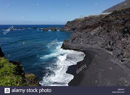 Black Sand Beaches by Black Sand Beach Playas De Zamora Playa Chica La Palma Canary