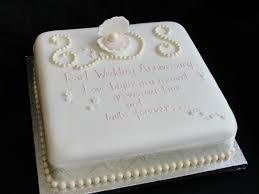 Wedding Anniversary Cakes Anniversary Cakes Bespoke Bakery