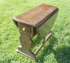 Drop Leaf Table Plans Vintage Drop Leaf Table Guest Post Country Chic Paint