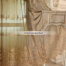 Embroidered Sheer Curtains Embroidered Sheer Curtains Are Great Choice For European Bedroom