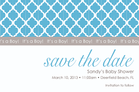 save the date baby shower florida baby shower save the date blue plaid pattern top