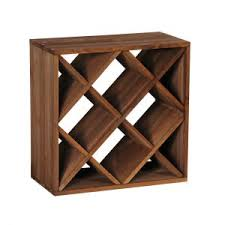 furniture u0026 organization wall mounted wood wine rack and wine