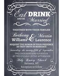 Eat Drink And Be Married Invitations 21 Charming Rustic Wedding Invitations Mon Cheri Bridals