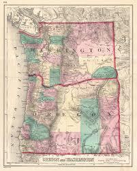 Washington State Geologic Map by Washington Oregon Map Adriftskateshop