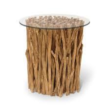 palecek driftwood bundle stick side table base pk 6014 69
