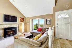 Vaulted Living Room Ceiling Living Room Ceiling Vaulted Ceiling Living Room House Interior