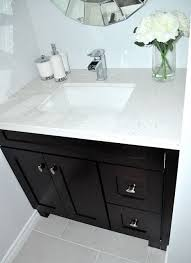 powder room vanity cabinets 12 best images about dads bathroom on pinterest chrome finish