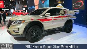 nissan rogue star wars nyias 2017 2017 nissan rogue rogue one star wars edition x