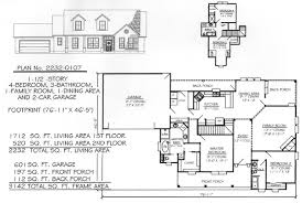 520 Sq Ft 4 Bedroom 2 Story Under 2300 Square Feet